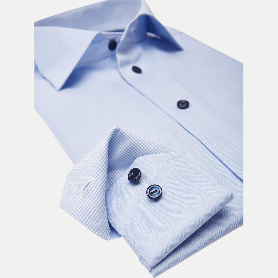 3010-2017 - Signature Twill Skjorte - Skjorter - L BLÅ - 4